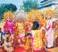 Chhow-Dance-performed-by-students